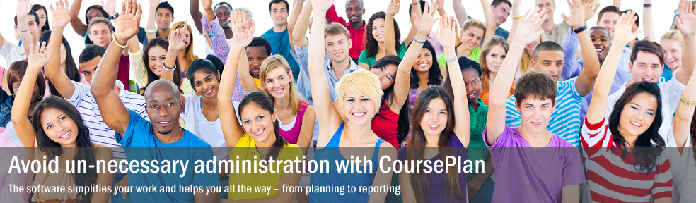 Avoid un-necessary administration with CoursePlan